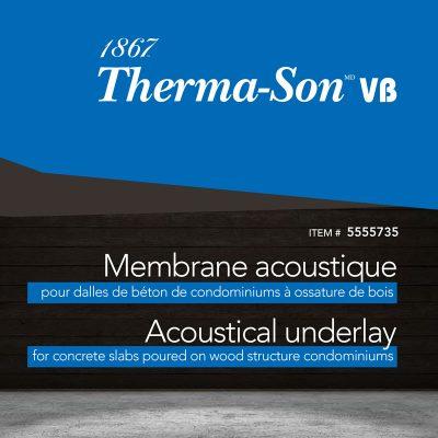 Membrane acoustique plancher - Thermason VB