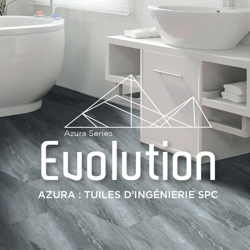 Évolution Azura-tuiles d'ingénierie spc